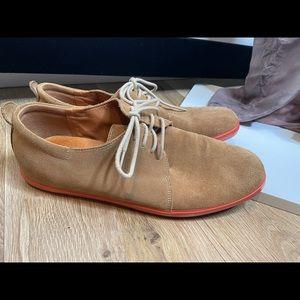 Camper real leather sneakers 13 46 brown orange